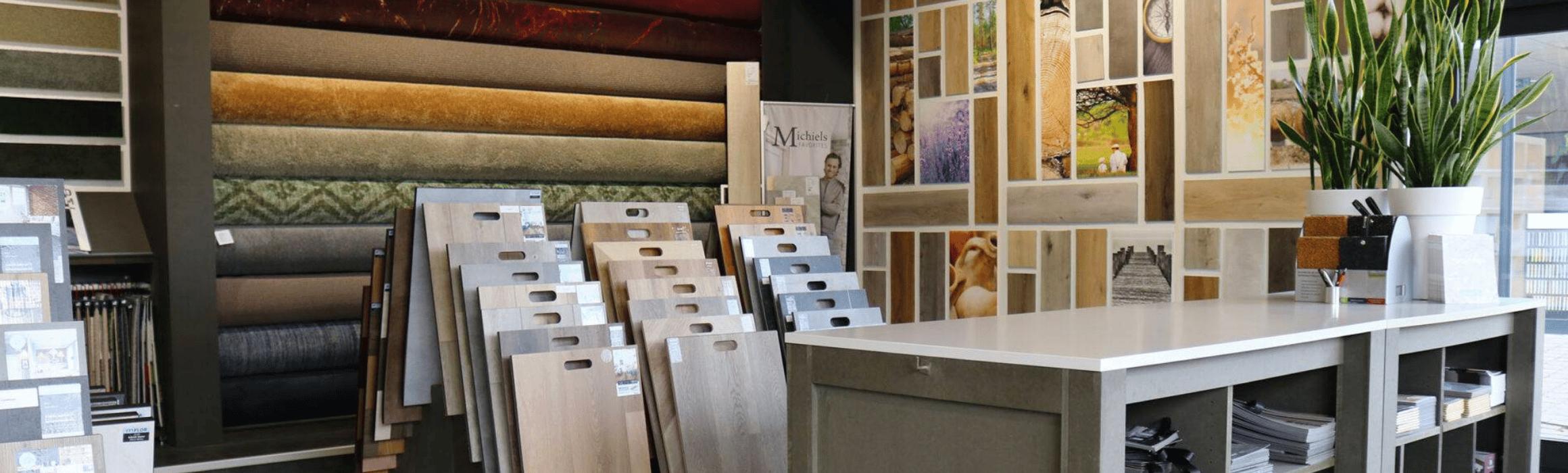 vele soorten vloeren en tapijt
