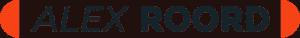 alex roord logo wit